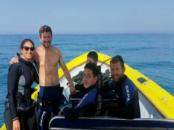 קורסי צלילה והתמחויות